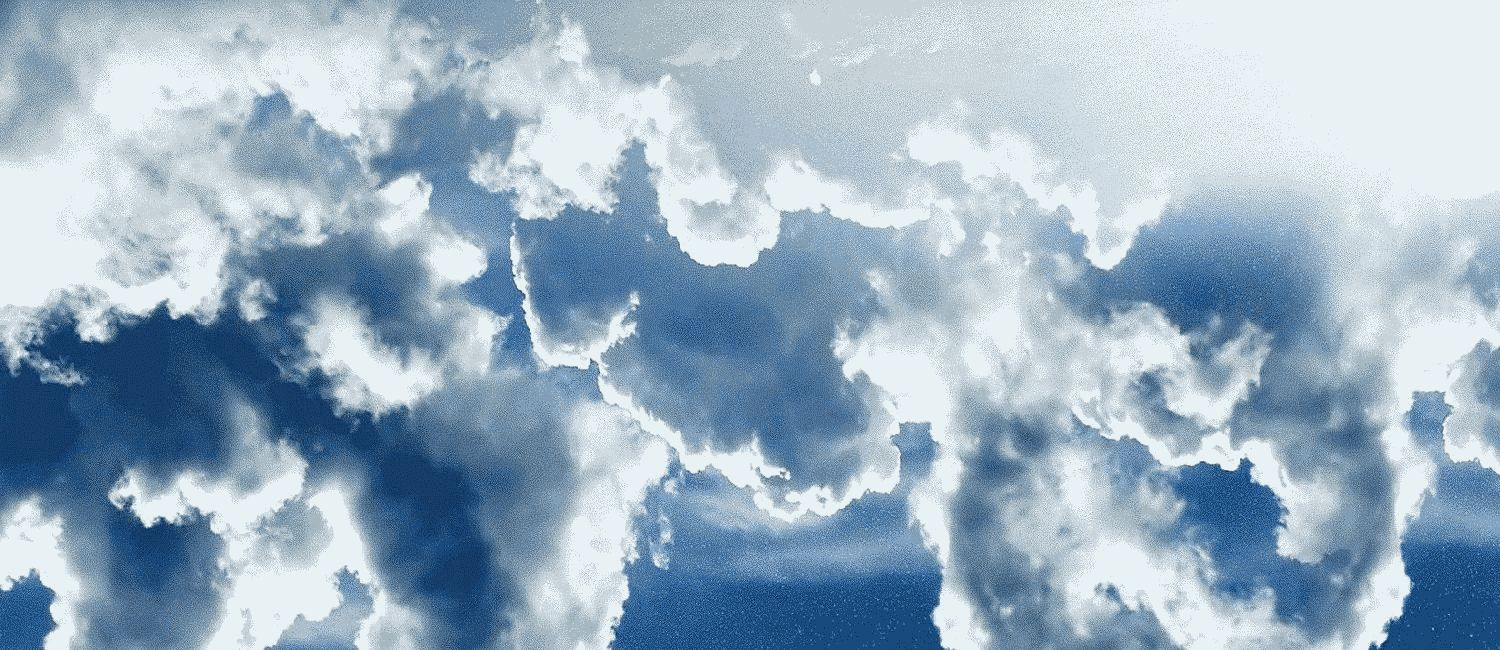 animated clouds background
